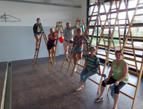 Putztag im neuen Feuerwehr Haus, am 24.08.2020