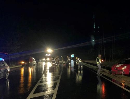 Einsatz – B 38 – Verkehrsunfall mit Sachschaden, am 11.10.2020