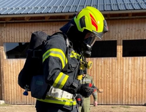 Atemschutzübung – Abschnitt FR Nord in Pürstling, am 10.04.2021