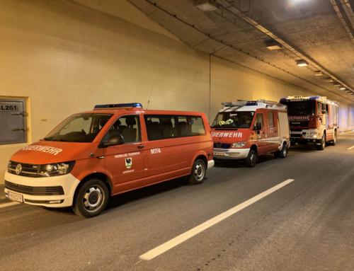 S10 Tunnelbesichtigung mit der ASFINAG, am 15.04.2021