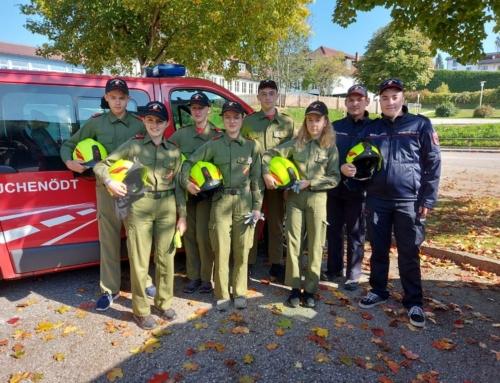 Feuerwehrjugend Leistungsabzeichen Gold, am 09.10.2021